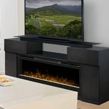 concord dark grey electric fireplace entertainment center gds50 1243sc