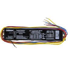 Sylvania Osram 49908 Qtp4x32t8 Unv Isn Sc B T8 Fluorescent Ballast Walmart Com