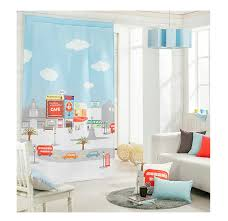 kids baby children room anese korea style nordic door curtain ready window curtain for bedroom and ing rooms decoration in curtains from home