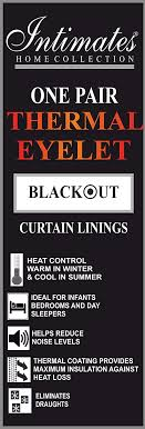 thick thermal pair of blackout lining for eyelet curtains 66 wide x 90 drop thermal blackout lining pair 3 pass insulated co uk kitchen home