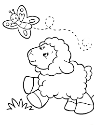 Small Picture Unique Sheep Coloring Pages 75 For Coloring Print with Sheep