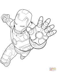 Iron Man Coloring Pages With Printable 2395302 Of Marvel Thanos Copy