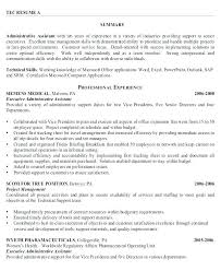 Administrative Assistant Resume Template Gulflifa Co