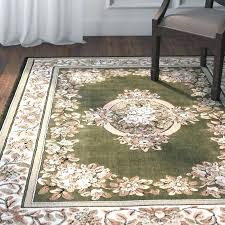 hunter green area rugs high quality woven fl printed drop stitch carving rug palm lily ivory indoor outdoor s