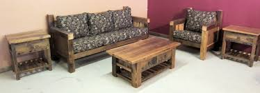 rustic living room furniture sets. Reclaimed Wood Living Room Sofa.jpg Furniture Sets Rustic