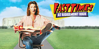 Image result for the movie Fast Times at Ridgemont High debuts in U.S. theaters.