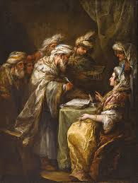 The Marriage Contract Painting By Charles Andre Van Loo