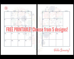 free printable 2019 monthly calendar 2019 monthly calendar two page spread free printable printables