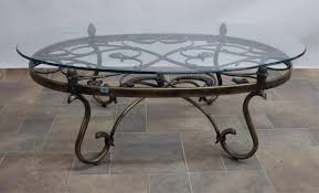 wrought iron coffee table with glass top therapybychance round ikea furniture decoration living room