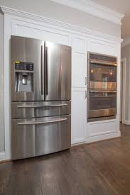 Over The Fridge Cabinet Kitchen Amusing Over Refrigerator Kitchen Cabinets With Double