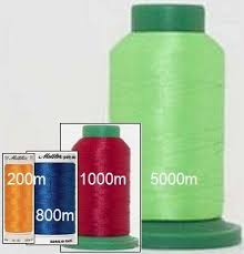 Isacord Thread Chart With Color Names Isacord Or Mettler Polysheen 40wt Polyester Embroidery