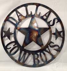 dallas cowboys metal wall art