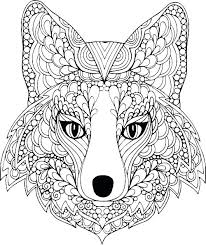 Hard Animal Coloring Sheets Free Printable Difficult Animals
