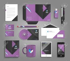 Professional Stationery Template Classic And Professional Stationery Template Design For Your