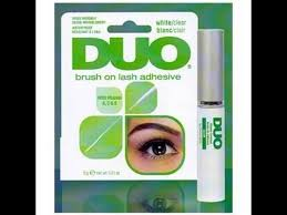 best eyelash glue. the best eyelash glue ever [review/tutorial for duo brush on adhesive]