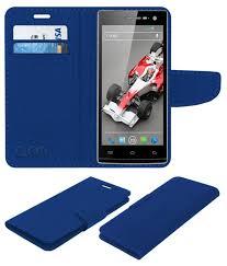 Xolo Q1010 Flip Cover by ACM - Blue ...