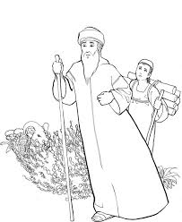 Top 10 Abraham Coloring Pages For