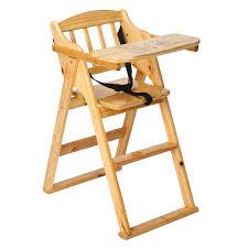 baby kid high chair stool adjule wood plastic