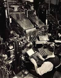 「newyork tribune first Linotype」の画像検索結果
