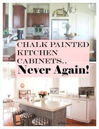 old white annie sloan kitchen chalk painted kitchen cabinets never again white lace cottage using paint