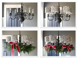 the yellow cape cod how to decorate your chandelier for holiday chandelier