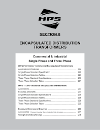 hps catalog encapsulated distribution section8 manualzz com Basic Electrical Wiring Diagrams at C1f005les Wiring Diagram