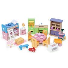 dolls furniture set. Le Toy Van Dolls House Furniture Sets Daisylane Starter Set N