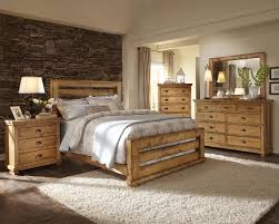 Natural Pine Bedroom Furniture Progressive Furniture Willow Queen Slat Bed With Distressed Pine