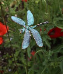 dragonfly garden stakes. Dragonfly Garden Stakes I
