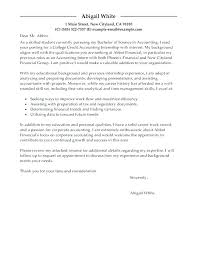 College Resume Cover Letter Cover Letter College Student Part Time
