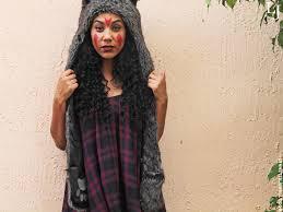 diy wolf girl costume