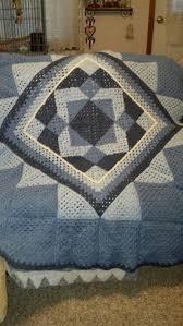 115 best Crochet Quilts images on Pinterest | Knit blankets ... & a crochet quilt pattern by Ken Jones Adamdwight.com