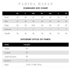 Shawl Size Chart Shawl Shirt Black