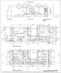 How To Draw Floor Plans Site Plan And Floor Plans The Wolf Residence By Barton Myers