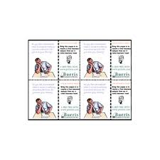 Burris Coupon Template For Microsoft Publisher