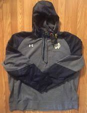 under armour notre dame jacket. notre dame under armour infrared coldgear 1/4 jacket on field collection new 2xl under armour notre dame jacket q