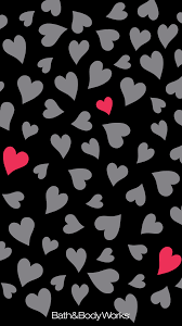 Black Heart iPhone Wallpaper