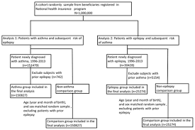Asthma Pathophysiology Flow Chart Association Of Epilepsy And Asthma A Population Based