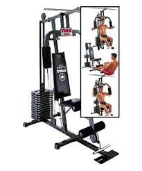 York 925 Home Multi Gym Exercise Chart Boards Ie