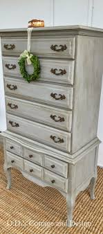 refinishing bedroom furniture ideas. ddu0027s cottage and design grey french provincial chest on gray furniturefurniture makeoverfurniture ideaspainted bedroom refinishing furniture ideas b