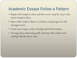 essay form and structure mla ppt video online  7 academic essays