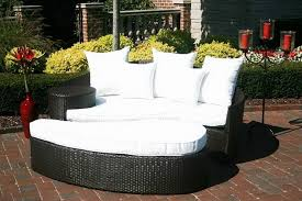 comfortable patio furniture. White And Black Round Modern Rattan Comfy Patio Furniture Stained Design For Cheap Comfortable O