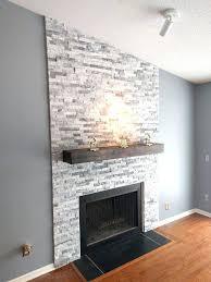 stacked stone fireplace surround kits i built a stacked stone fireplace surround modern fireplace stacked stone fireplace