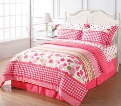 girls full size bedding sets pink