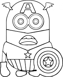 Coloring Pages Minion Coloring Book Pictures To Print Colouring