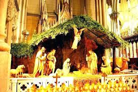 plastic outdoor nativity scene plastic outdoor nativity sets indoor nativity sets large indoor nativity set image