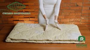 <b>Одеяло овечья шерсть</b> в хлопковой ткани. Видео обзор. Как ...