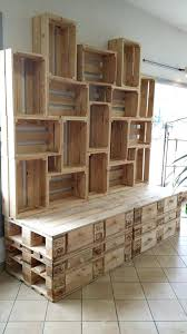 Pallet Shelves Wooden Pallet Shelf Wood Pallet Shelves Ideas