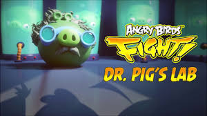 Angry birds epic dr pig laboratory theme puzzle ( music ) - YouTube