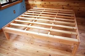 King Wooden Bed Frames Beds Astonishing Wooden King Size Bed Frame ...